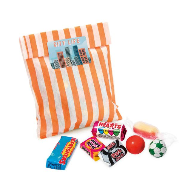 Candy Bag – Retro Sweets – Large