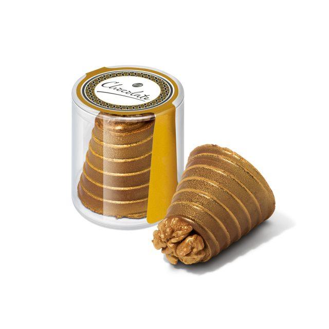 Clear Pot – Walnut Whirl