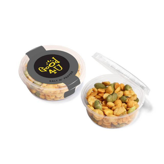 Eco Range – Eco Midi Pot – Salt & Pepper – Veggie Protein Snacks