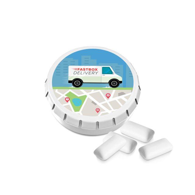 Kalfany – Super Mini Click Clack Tin – Sugar Free Gum