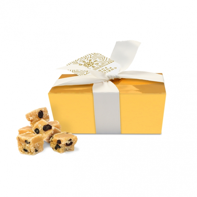 Winter Collection – Ballotin Box – Christmas Pudding Fudge