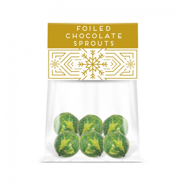 Winter Collection – Eco Info Card – Chocolate Sprouts
