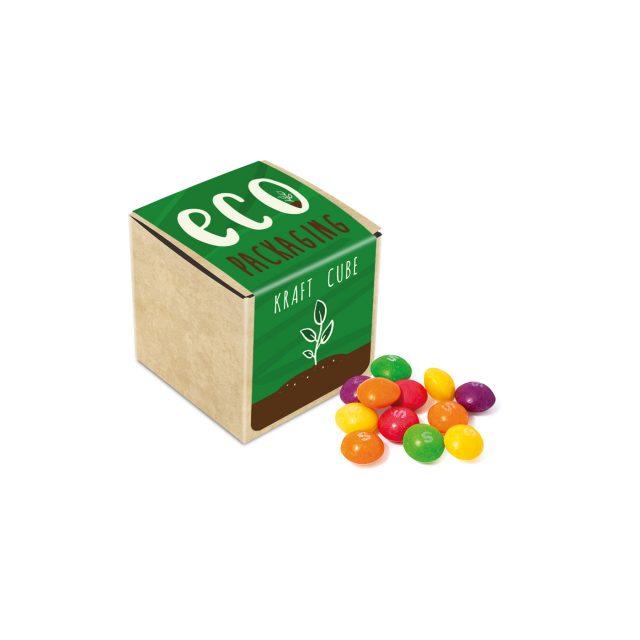 Eco Kraft Cube – Skittles