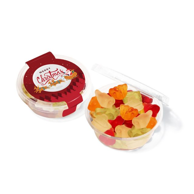 Christmas – Eco Midi Pot – Kalfany Christmas Fruit Gums