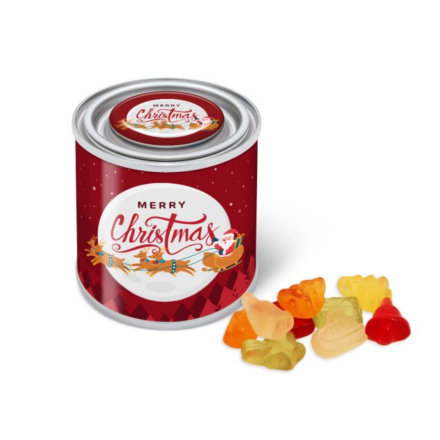 Christmas – Small Paint Tin – Kalfany Christmas Fruit Gums