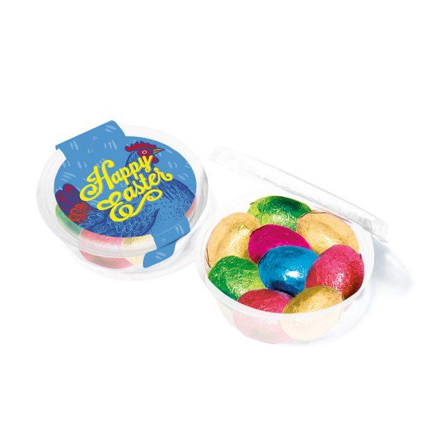 Easter – Eco Midi Pot – Foiled Chocolate Eggs